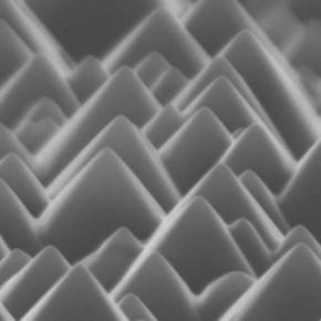 Dokulu silikon yüzeyi örneği