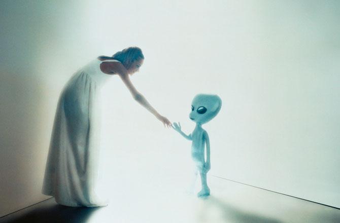 Gelecekte dünya dışı varlıklarla tanışabilecek miyiz? CREASOURCE/CORBIS