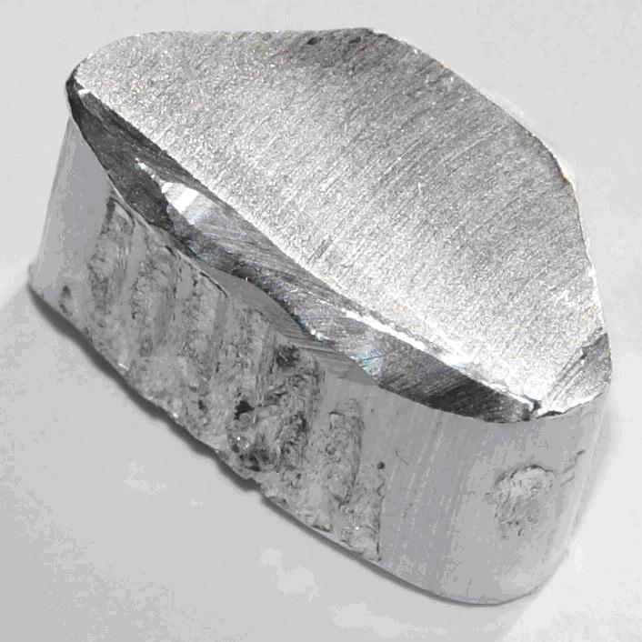 Metalik Alüminyum  Kaynak : http://en.wikipedia.org/wiki/Aluminium