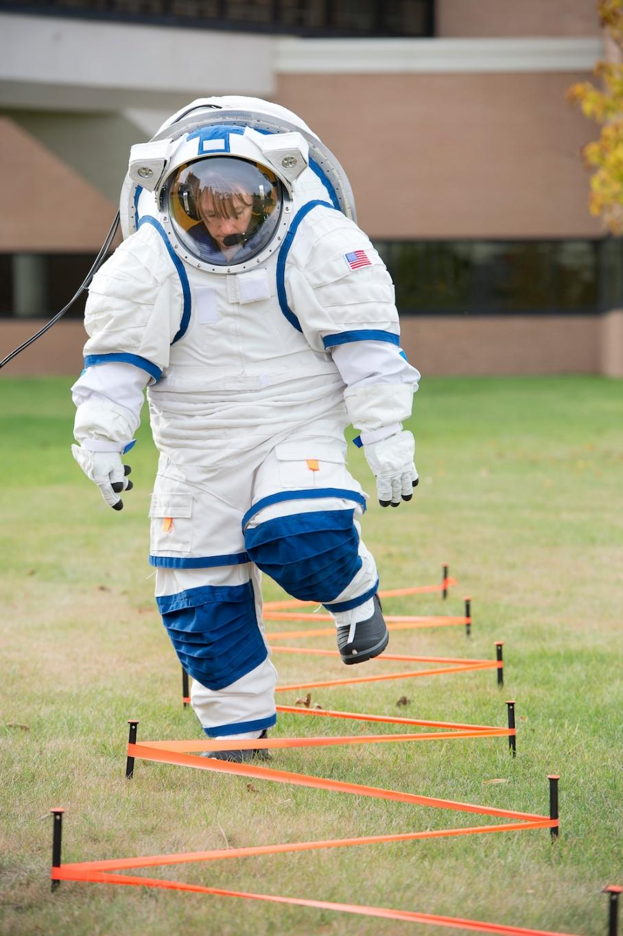 North Dakota Üniversitesi'nde NDX 2 uzay giysisinin test edilmesi. Pablo de León/Tiffany Swarmer/UND Aerospace Network