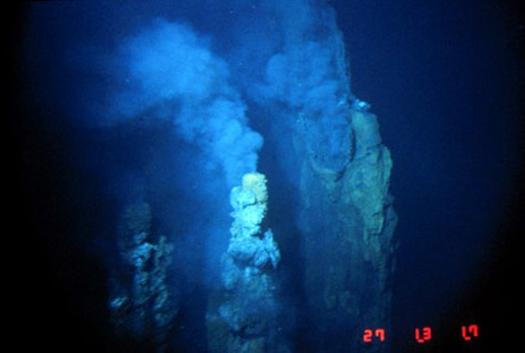 Derin deniz mikropları. NOAA PMELS Vents Program