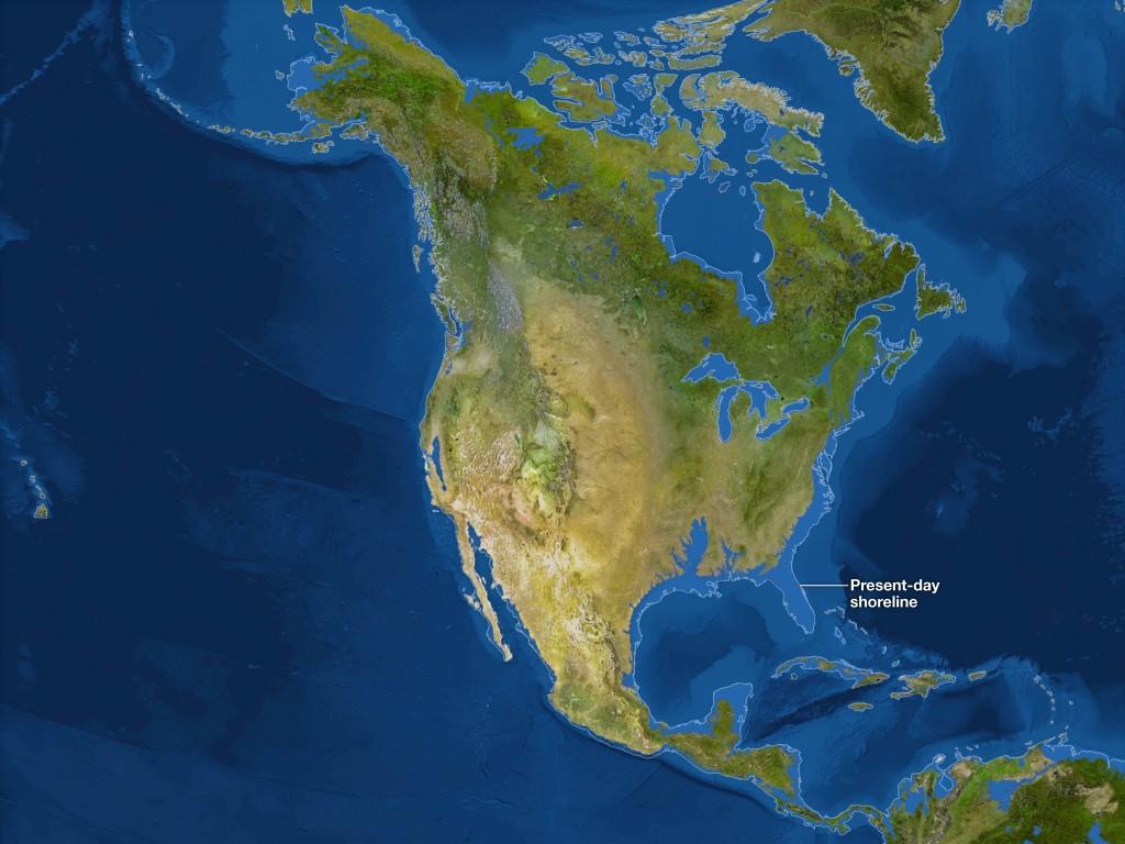 ABD'de suların yükselmesi söz konusu olursa. Credit: National Geographic