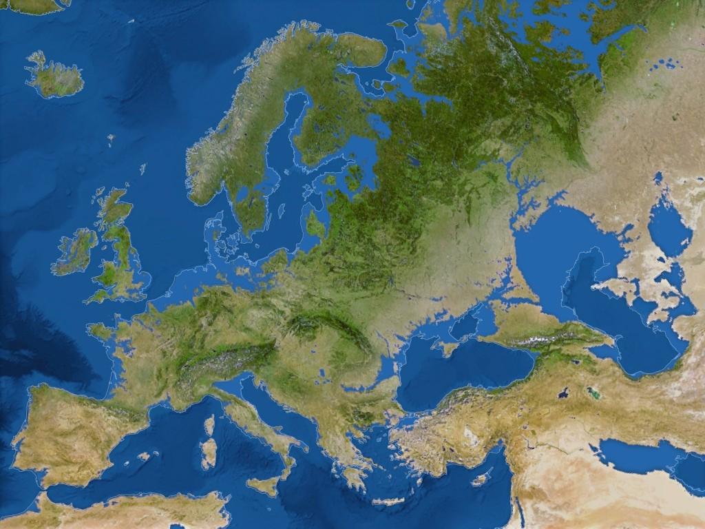 Bu katastropik senaryoya göre Avrupa ve Türkiye'nin geleceği. Credit: National Geographic