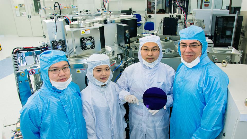 Çalışmayı gerçekleştiren Singapurlu araştırma grubu.