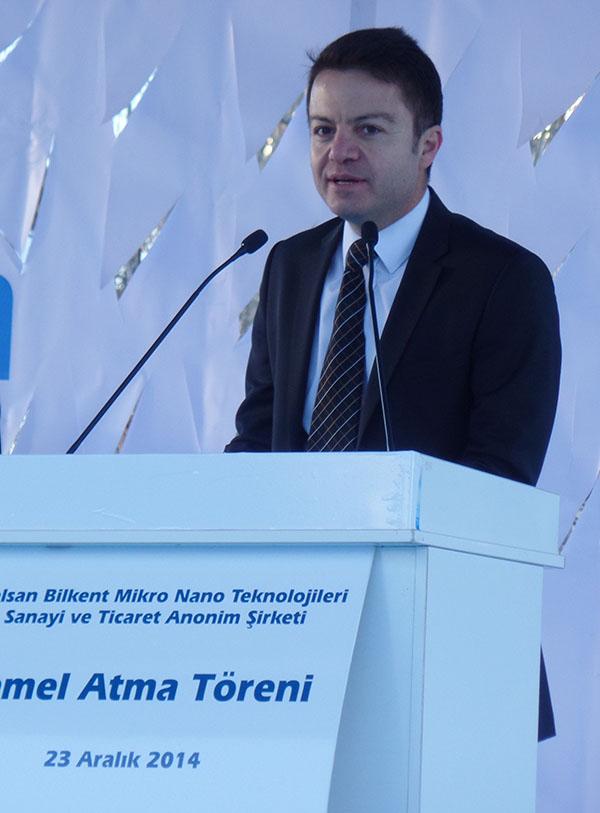 NANOTAM Başkanı ve AB Mikronano şirketi genel müdürü Prof. Dr. Ekmel Özbay.
