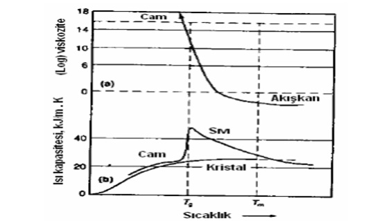 Şekil 4: Sıcaklık-Viskozite İlişkisi (Johnson 1990)