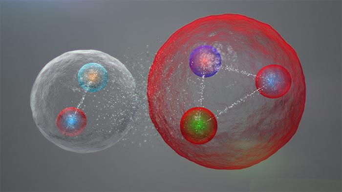 Pentakuark-molekülü
