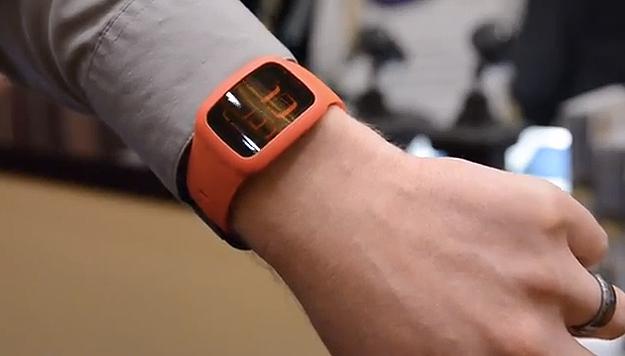 Vücut ısısıyla çalışan kol saatine bir örnek.