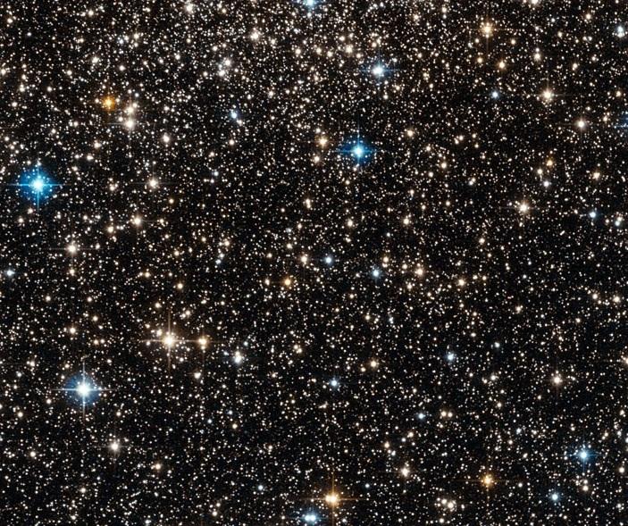 Şekil1. Djorgovski 1 yıldız kümesi.